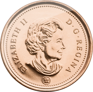 The Canadian penny