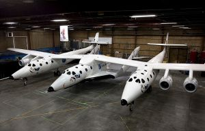 Virgin Galactic's SpaceShipTwo. Credit: Virgin Galactic/Mark Greenberg.