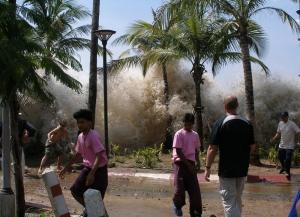 Impact of the 2004 Boxing Day tsunami in Thailand. Credit: David Rydevik