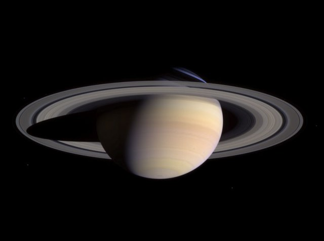 Saturn as seen by the Cassini Spacecraft. Credit: NASA.