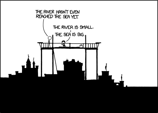 Frame 563 of Time, as counted by Geekwagon. Credit: xkcd/Randall Munroe.
