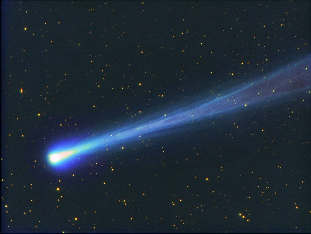 Photo of Comet ISON on November 16. Credit: Michael Jaeger.