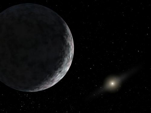 Artist's impression of a distant Kuiper Belt Object like 2012 VP113. Credit: NASA/JPL-Caltech.