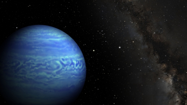 Artist's conception of WISE J085510.83-071442.5. Credit: NASA.