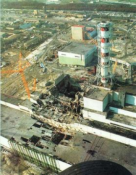 The result of the Chernobyl disaster.