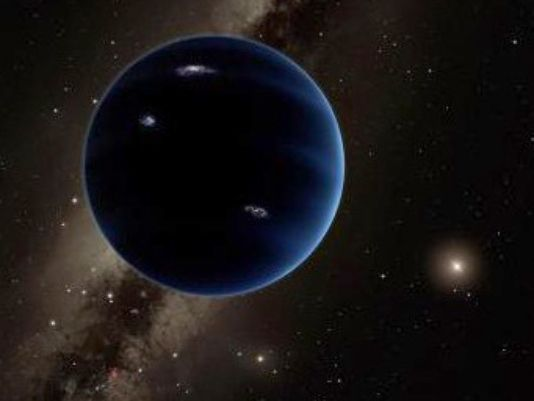 Artist's rendition of what the ninth planet might look like. Credit: (R. Hurt, Caltech).